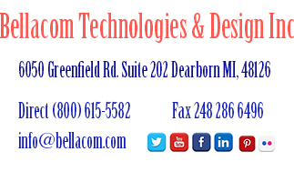 Bellacom Technologies & Design address